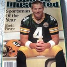 Brett Favre Sportsman of the Year Sports Illustrated December 2007