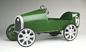 Sporty Pedal Car - Green
