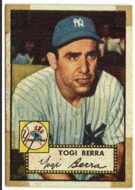 """Yogi Berra Topps #191 baseball card"""