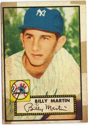 """Billy Martin Topps #175 baseball card"""