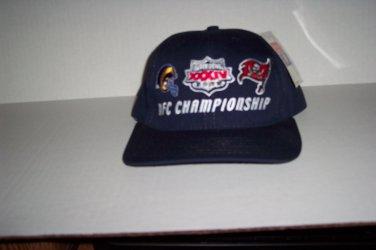 """Rams - Bucs NFC Championship baseball cap NEW"""