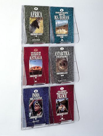 Wall Literature Rack - Deflect-o 56401