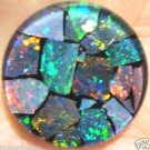 OPAL MOSAIC  TRIPLET FOR JEWELRY PENDANT OR RING  20mm