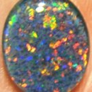 AUSTRALIAN GEM OPAL FOR JEWELRY PENDANT OR RING 12x10mm
