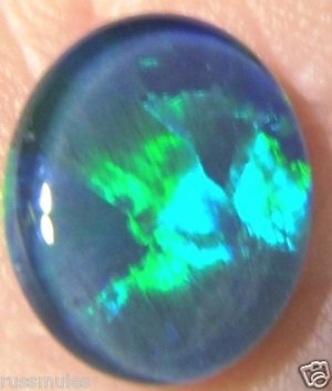 OPAL TRIPLET STONE FOR JEWELRY PENDANT OR RING   11x9mm