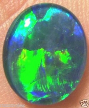 OPAL TRIPLET STONE FOR JEWELRY PENDANT OR RING  12x10mm