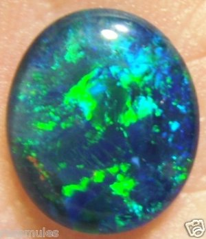 OPAL TRIPLET GEM FOR JEWELRY PENDANT OR RING  14x12mm