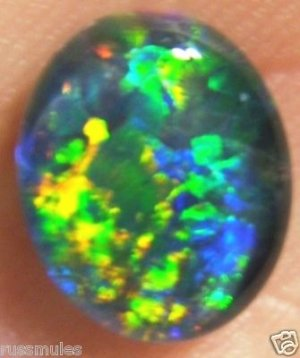 OPAL TRIPLET JEWELRY STONE FOR  PENDANT OR RING 10x8mm
