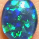 OPAL TRIPLET JEWELRY STONE FOR PENDANT OR RING  9x7mm