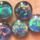 OPAL TRIPLET JEWELRY STONES FOR RINGS OR STUDS  5of 7mm