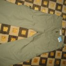 NEW OLD NAVY GIRLS CAPRIS LIGHT OLIVE GREEN SIZE 16 LIGHTWEIGHT