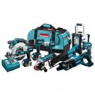Makita LXT902 18-Volt LXT Cordless 9-Piece Combo Kit