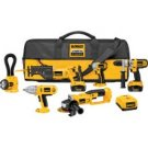 DeWalt DCK675L 18 V Heavy-Duty XRP Cordless 6-Tool kit