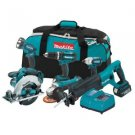 Makita LXT601 18VT LXT Lithium-Ion Cordless Combo Kit
