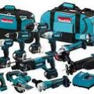 Makita LXT1500 18-Volt Lithium-Ion Cordless 15-Piece Kit