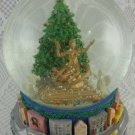 Big City Snow Globe Music Box Plays I'm Dreaming Of A White Christmas tblbs2