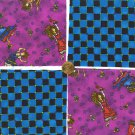 Wild Wacky Women with a Checkered Past Fabric Quilt Squares yw1