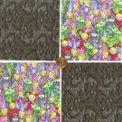 Knight in Shining Armor Princess Dragon  Fabric Quilt Squares 100%  Cotton YW1