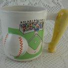 Emson Baseball Coffee Mug Bat Ball Diamond Grandstand Play Ball Go Team tblhq1