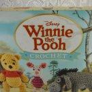 Disney Winnie the Pooh and Friends 12 Crochet Project Set Yarn and Hook tblqw1