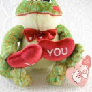I Love You Frog Plush Stuffed Toy Multi-Colored Forever Yours tblwk1