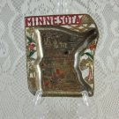 Vintage State of Minnesota Shaped Trinket and Keys Holder Collectible tblan1