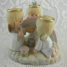 Ceramic the Moments Are Precious Three Angels Painting A Rainbow Cute tblnu1