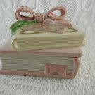 Thinking Of You Ceramic Treasure Jewelry Trinket Earring Box Fitz Floyd tblbs