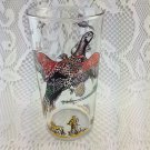 Vintage Pheasant Beverage Glasses Set of 7 Hunting Nature Colorful tblbs