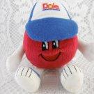 Dole Food Company 1999 Baseball Mascot Plush Toy With Cap Sports Player tblot1