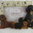 Spoontiques Dachshund Memento Picture Frame Holds a 4 by 6 inch picture tblko1