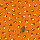 """I Spy 6 by 9 inch Candy Corn Orange Candy Novelty Fabric 6"""" x 9"""" Quilt Square"""
