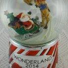 Santa Claus Sleigh Snow Globe Music Theme Jingle Bells Wonderland 2014 tblbs2
