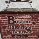 Ferrara Pan Boston Baked Beans Mini Metal Lunchbox Case Collectible tblak1