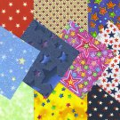 I SPY NOVELTY Star Stars Novelty set 7 100% Cotton Fabric Blocks Squares PO3