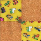 Walking on Sunshine 4 inch Cotton Fabric Craft Squares   gd3