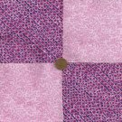 Pretty in Purple 4 inch Fabric Cotton Craft  Quilt Squares  Block rbx2