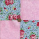 Breast Cancer Fabric Quilt Squares  Cotton Fabric Squares  zE1