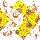 20 4 inch Kids Love Rainbow Pinwheels 100% Cotton Novelty Fabric Sqs osr5