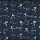 Marcus Brothers R17 Noah and the Rainbow Judie Rothermel Cotton  Fabric Yardage
