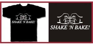 SHAKE 'N BAKE ferrell Taladega T-SHIRT black Small