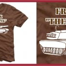 """"" FRANK THE TANK """" ferrell old school T-SHIRT brown Lar"