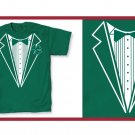 Irish leprecon St. patric tux green T-Shirt Large