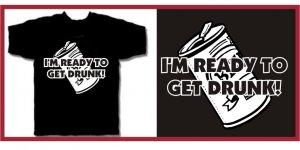 Get Drunk Wedding Crashers dvd T-SHIRT BLACK XXL
