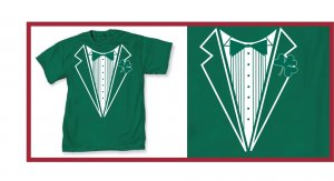 Irish leprecon St. patric tux green XX-T-Shirt