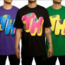 The Hundreds 'Patchwork' T Shirt - Purple