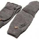 The Hundreds Convertible Gloves - Grey