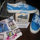 GT DYNO Shoes Low Top Blue BMX Freestyle Mens Shoes - Size 11