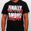 Another Enemy AE x Finally Famous Mens Black T Shirt - Size XL