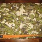 LoveSac QuiltSac Camoflauge / Orange Footsac Blanket - RARE